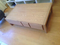 Habitat Oak Coffee table