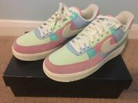 Nike Air Force 1 Easter Spring Patchwork UK 7