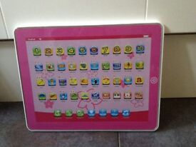 Chad Valley Junior touch Tablet- pink. Kids mini IPad