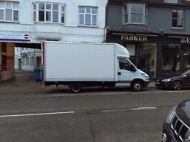 MAN AND LUTON VAN WITH TAIL LIFT REMOVAL AND TRANSPORT SERVICES,