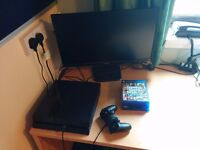 game console + full hd display + 4 games £250