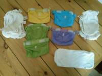 Gnappies bundle size small (reusable nappies