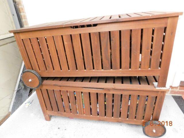 Admirable Ikea Wooden Storage Bench 2 Available Rrp 110 Selling For 45 Each In Southampton Hampshire Gumtree Inzonedesignstudio Interior Chair Design Inzonedesignstudiocom