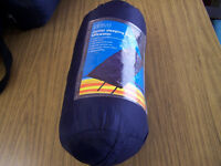 Junior sleeping bag by Ullswater navy blue with carry bag