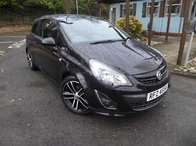Vauxhall Corsa BLACK EDITION (black) 2014-01-14