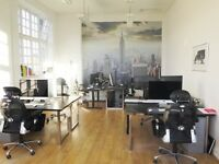 Desk rental space available for rent in small creative agency - Epsom, Surrey