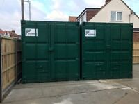 Storage Container In Secure Yard Available Now