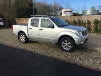 2007-57-reg Nissan navara outlaw 2.5DCI 4x4 double cab runs and drives but needs attention