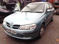 2000 Nissan Almera 1.8 SE Auto 5dr grey bw3 k BREAKING FOR SPARES
