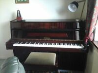 Legnica  mahogany finish upright piano for sale