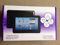 Brand new 7 inch tablet with android 4 - wifi built in -4GB