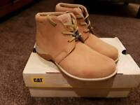 Brand New in Box Caterpillar Boots Size 4 wide fit