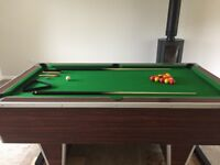 Superleague pub pool table for sale