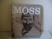 STIRLING MOSS BIOGRAPHY,HARDBACK BY ROBERT EDWARDS