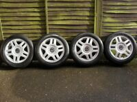 VW Golf MK4 Alloy Wheels And Tyres.