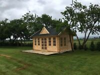 Wooden log cabins, wooden garages, wooden carpots, wooden houses