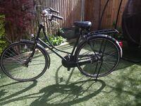 LOVELY LADIES RETRO 'NOSTALGIE' DUTCH BICYCLE IN GOOD CONDITION