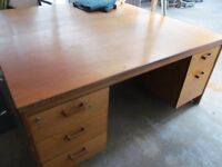 Vintage Office Desk (2 Available)