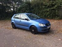 2006 Volkswagen polo 1.2 5dr 97k miles brand new mot 8 service stamps . ideal first car.