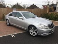 Mercedes S class S350L LWB cdi. PCO car. Blue efficiency. Only 110k miles