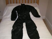 Motor-cyclists Hein Gericke Leather Step-in Suit. Size XL