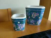 Shabby Chic Plant Pot Holders