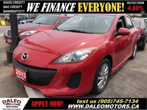 2013 Mazda Mazda3 GS-SKY | HEATED SEATS | MP3 | CRUISE CONTROL