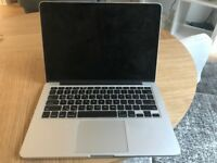 MacBook Pro Retina, 13-inch, Mid 2014, 256Gb