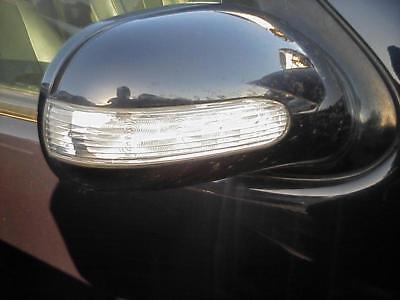 Mercedes ML W163 BJ 2002 Außenspiegel rechts elektrisch Spiegel Blau 359