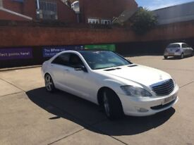 Mercedes s320cdi white Perl not wraped bargain !!!!