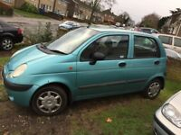 2004 DAEWOO MATIZ 995cc XTRA COOL HATCH BACK 84K FULL MOT