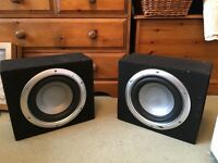 Two SPLX subwoofers