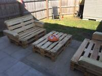 Bespoke Pallet Garden Furniture