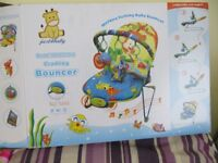 Baby Girls Musical Bouncing Chair - New and Unused