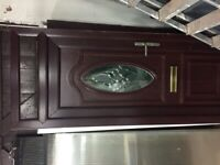 UPVC ROSEWOOD FRONT DOOR GREAT CONDITION