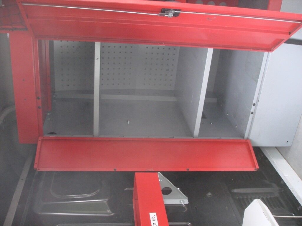 Botts Steel Van Racking Shelving For Ford Transit Medium Roof Swb Mark 7 Fuse Box Mk