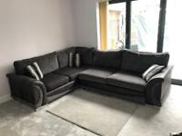 5 seater L-shaped sofa