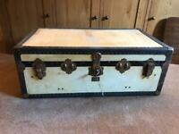 VINTAGE STEAMER TRUNK made by Watajoy of London 1930's