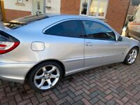 Mercedes c200 cdi sports coupe