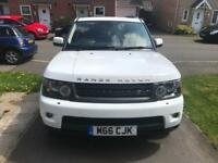 61 PLATE RANGE ROVER SPORT 3.0 HSE AUTO WITH COMMAND SHIFT TIP-TRONIC £16500 Call on:07730478723