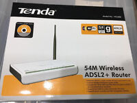 Tenda 54M Wireless ADSL2 + Router