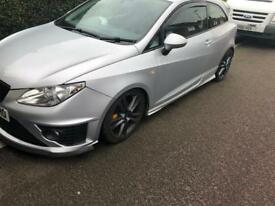 2009 Seat Ibiza 1.4 fitted with genuine rear aero sport bodykit
