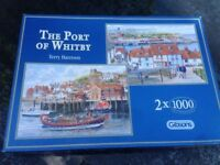 Whitby Jigsaw Puzzles 2 x 1000 pieces