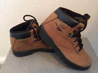 Hi-Tec Leather Walking Boots Size 3 Eur 35