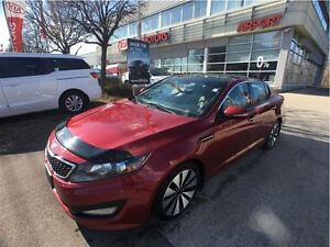 2011 Kia Optima Turbo SX, Leather, Sunroof, Navigation