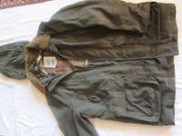 New Beretta Shooting Jacket Size GB 46 Waterproof Thornproof Windproof