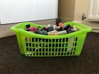 Basket of nail varnish