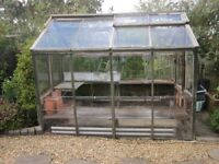 Vintage 1950s Wooden Greenhouse