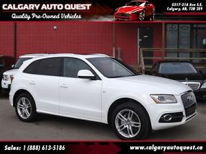 2014 Audi Q5 2.0 Progressiv S-LINE (AWD) NAVI/LEATHER/ROOF