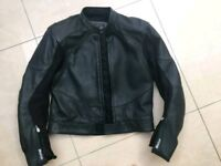 Weise Leather motorcycle jacket
